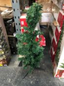 11 X 3FT PRE-LIT CHRISTMAS TREES / COMBINED RRP £66.00 / CUSTOMER RETURNS (IMAGES ARE FOR