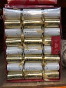 24 X PACKS OF PREMIUM CHRISTMAS CRACKERS / COMBINED RRP £120.00 / AS NEW (IMAGES ARE FOR