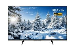 "SONY BRAVIA 65"" SMART ULTRA HD 4K LED TV - 65XG7093 / RRP £749.00 / TESTED AND WORKING. LIKE NEW,"