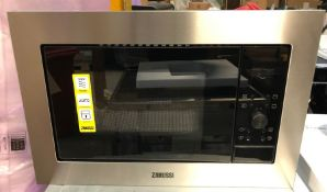 ZANUSSI ZMSN7DX BUILT-IN MICROWAVE OVEN WITH GRILL