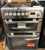 HOTPOINT HUE61XS ELECTRIC COOKER