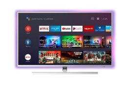 """PHILIPS 50"""" SMART AMBILIGHT 4K ULTRA HD ANDROID TV - 50PUS8535/12 / RRP £549.00 / UNTESTED, DUE TO"""