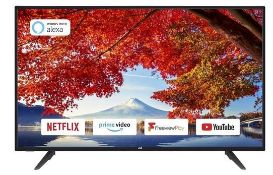 """JVC 40""""SMART FULL HD LED TV - LT-40C700 / RRP £280.00 / TESTED, STRUGGLES TO STAY TURNED ON,"""