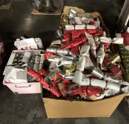 3 X BOXES OF LOOSE CHRISTMAS CRACKERS / CONDITIONS VARY