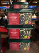 7 X PACKS OF CHRISTMAS LIGHTS / COMBINED RRP £80.00