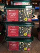 7 X PACKS OF CHRISTMAS LIGHTS / COMBINED RRP £84.00