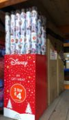 3 X BOXES OF FROZEN 2 WRAPPING PAPER - 36 ROLLS PER BOX / AS NEW