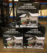 14 X LASER LIGHT SHOWS