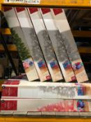 19 X MINI 3FT PRE-LIT CHRISTMAS TREES / COMBINED RRP £114.00 / SOME NEW, SOME RETURNS