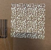 3 X BOXES OF LEPOARD THEMED WRAPPING PAPER - 36 ROLLS PER BOX / AS NEW