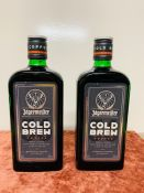 2 x JAGERMEISTER COLD BREW COFFEE LIQUEUR - 0.5L