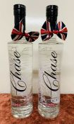 2 x CHASE ENGLISH VODKA - 70CL