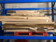 1 X BULK PALLET OF GRADE C/D BED AND FURNITURE PARTS / SETS MAY BE INCOMPLETE. COLOURS, SIZES AND
