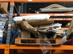 1 X BULK PALLET TO CONTAIN AN ASSORTMENT OF PRODUCTS / INCLUDING MIRROR, COT MATRESS AND MORE