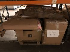 1 X BULK PALLET TO CONTAIN AN ASSORTMENT OF LA REDOUTE GRADE C/D FURNITURE / COLOURS, SIZES AND