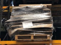 1 X BULK PALLET TO CONTAIN A LARGE ASSORTMENT OF NOTICE AND WHITE BOARDS / CONDITIONS, COLOURS AND