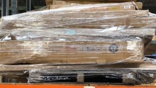 1 X BULK PALLET OF GRADE C/D BED PARTS / SETS MAY BE INCOMPLETE. COLOURS, SIZES AND CONDITIONS MAY