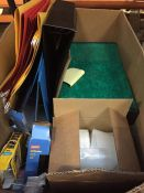 1 LOT TO CONTAIN AN ASSORTMENT OF OFFICE STOCKS, ITEMS TO INCLUDE : SUSPENSION FILES, BINDERS, UNI