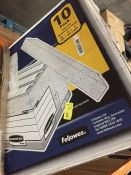 1 LOT TO CONTAIN 10 X FELLOWES BANKERS BOX, EXTRA LARGE STORAGE BOXES - L4