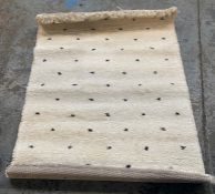 LA REDOUTE AVA SPOTTED BERBER-STYLE RUG/ SIZE 120X170CM