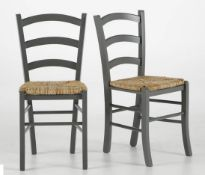 LA REDOUTE PERRINE COUNTRY-STYLE CHAIRS (SET OF 2)