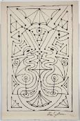 """Geometrie decorative I (1958)Lithograph on arches paper. Signed in the stone. Numbered """"IV/XX"""". From"""