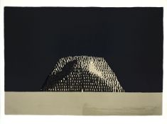 """Le Mastaba (1984)Colour lithograph on Arches paper. Signed, titled. Numbered """"55/100"""". Printer:"""