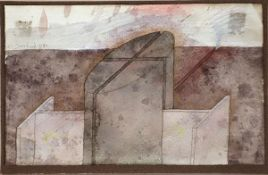 Ohne Titel (1980)2 mixed media on paper. Each signed and dated. Sheet sizes from: 13,5 x 10,6 cm
