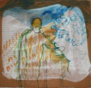 Monika ein Tiroler-Mädchen (1984)Watercolour and opaque white on cardboard. Signed, dated and
