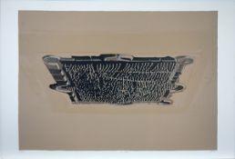 Damian, Horia Farblithographie auf Vélin d`Arches, 52,1 x 74,9 cm La Ville (1984) Signiert,