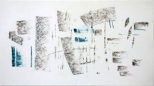 Dambacher, Walter Graphit und Buntstift auf Papier, 22 x 40 cm Ohne Titel (1991) Monogrammiert,