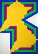 Bak, Imre Farbsiebdruck auf Karton, 69,9 x 49,5 cm Ohne Titel (1970) Verso signiert, datiert.