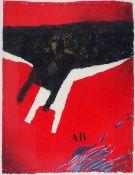 Coignard, James Farbradierung mit Carborundum und Gouache auf handgeschöpften Bütten, 74,6 x 56,6