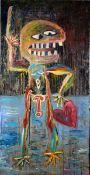 Bretschneider (das ist Verena Schneider), Georgy Öl auf Leinwand auf Keilrahmen aufgezogen, 200 x