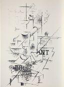 """Braque, Georges Lithographie auf Papier, 38 x 27,5 cm La bouteille Maeght 1051. Blatt aus """"Derrière"""
