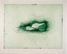 Dine, Jim Farbradierung auf Japanbütten, 50,5 x 65,5 cm Shoe (1973) Harper 104. Signiert, datiert,