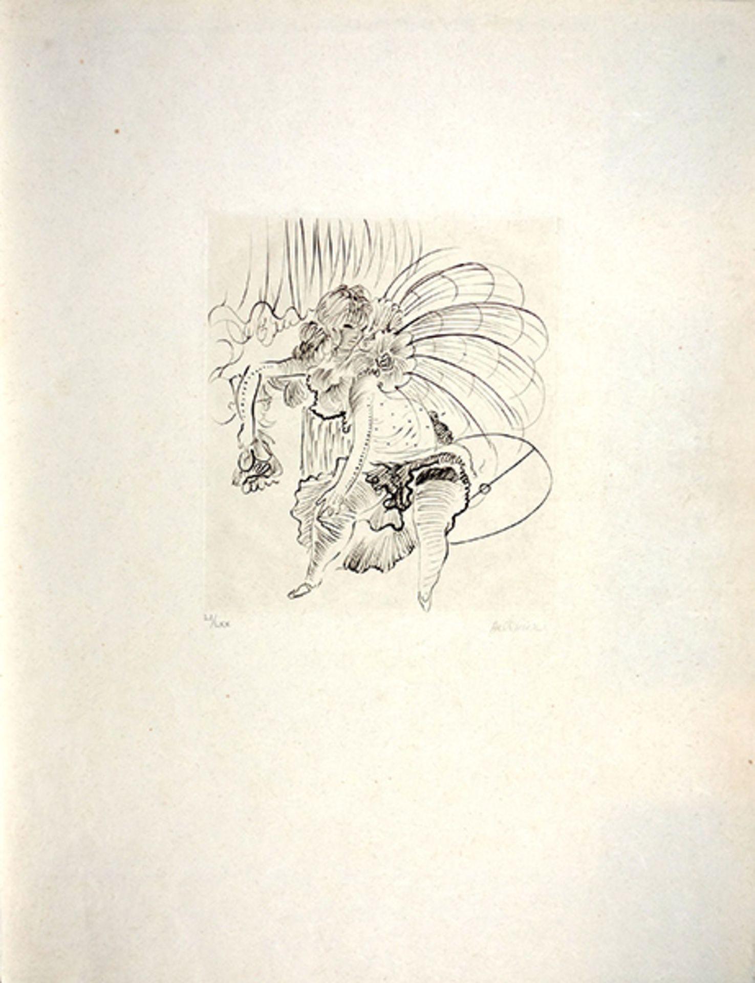 """Los 20 - Bellmer, Hans Radierung auf Japanbütten, 26 x 23 cm Ohne Titel Signiert. Nummeriert """"LI/LXX""""."""