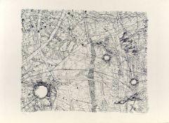 Buchheister, Carl Lithographie auf Bütten, 43,5 x 53,8 cm Ohne Titel (1960) Signiert, datiert.