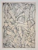 Bargheer, Eduard Kaltnadelradierung auf Bütten, 31,8 x 23,4 cm Agaven (1960) Rosenbach 172.
