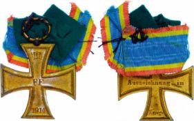 Auszeichnungen Deutscher Staaten bis 1933 Mecklenburg-Schwerin, Militärverdienstkreuz 2. Klasse