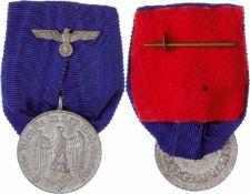 Auszeichnungen Wehrmacht Heer 2. Weltkrieg Ordensspange mit Dienstauszeichnung 4. Klasse für 4