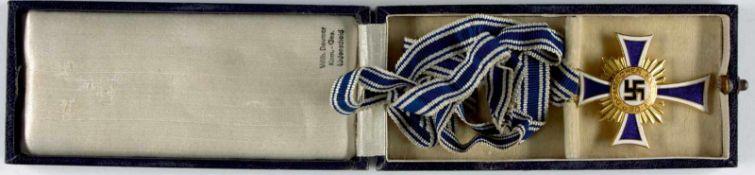 3. Reich Zivile Auszeichnungen Ehrenkreuz der Deutschen Mutter, 1. Stufe, 2. Form, 16. Dezember