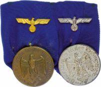Ordenspangen 3. Reich 2. Weltkrieg Ordensspange mit Dienstauszeichnung 3. Klasse für 12
