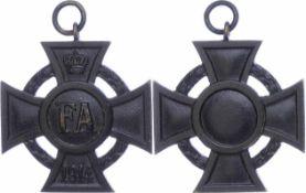 Auszeichnungen Deutscher Staaten bis 1933 Oldenburg, Friedrich August Kreuz, 2. Klasse, Eisen
