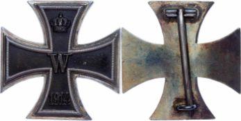 Auszeichnungen Deutscher Staaten bis 1933 Preußen, Eisernes Kreuz 1914 1. Klasse, flache Form, im