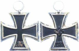 Allg. militärische Auszeichnungen 2. Weltkrieg Eisernes Kreuz 2. Klasse, 1939, mit Band, leicht