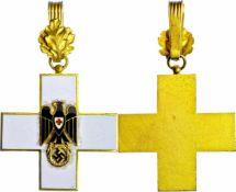 3. Reich Zivile Auszeichnungen Deutsches Rotes Kreuz, Ausgabe 1937-1939, Ehrenzeichen, Kreuz 1.
