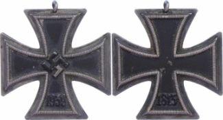 Allg. militärische Auszeichnungen 2. Weltkrieg Eisernes Kreuz 1939 2. Klasse, Zustand 2., Katalog: