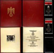 Allg. militärische Auszeichnungen 2. Weltkrieg Eichenlaub mit Schwertern zum Ritterkreuz des