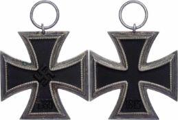 Allg. militärische Auszeichnungen 2. Weltkrieg Eisernes Kreuz 1939 2. Klasse, Zustand 2. Aus dem